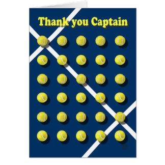 Cartão Obrigado Captain