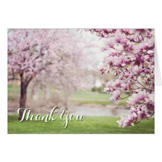 Cartão Obrigado cristão você serviço do coração