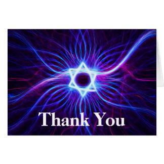 Cartão Obrigado de Magen do plasma você