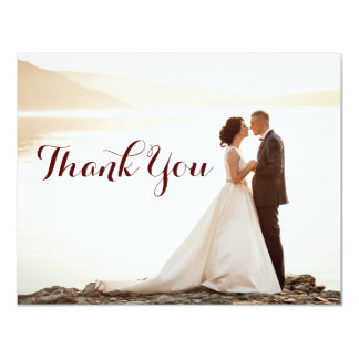 Cartão Obrigado do chá de panela do casamento você notas