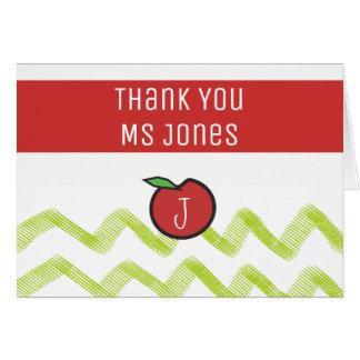 Cartão Obrigado do professor você modelos conhecidos do