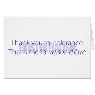 Cartão Obrigado do século XXI você notas