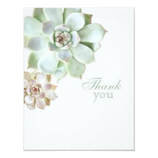 Cartão Obrigado elegante do vazio da graduação do