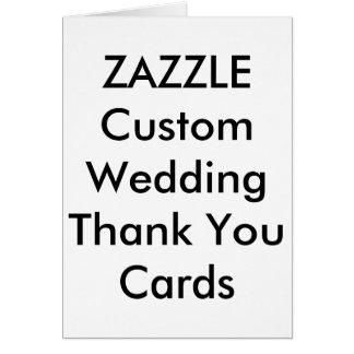 Cartão Obrigado feito sob encomenda do casamento você