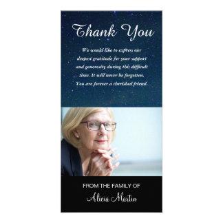 Cartão Obrigado memorável da simpatia da foto você