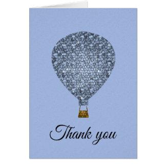 Cartão Obrigado mosaico da apreciação do reconhecimento