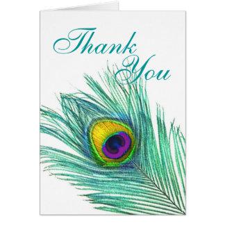 Cartão Obrigado notar
