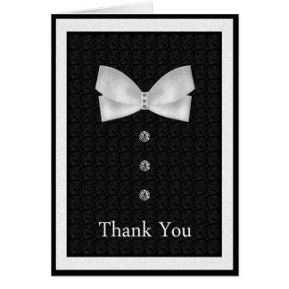 Cartão Obrigado o melhor casamento do homem