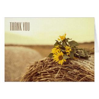 Cartão Obrigado - oeste