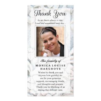 Cartão Obrigado simpatia feita sob encomenda da foto -