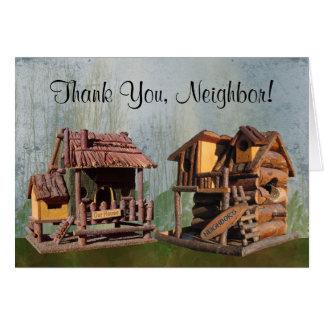 Cartão Obrigado, vizinho