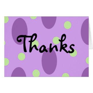 Cartão Obrigados