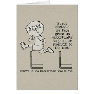 Cartão Obstáculos