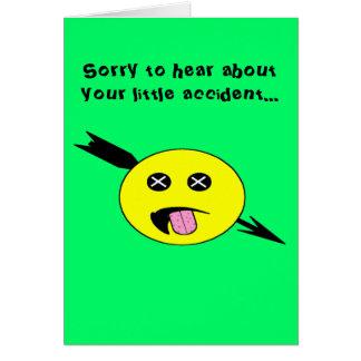 Cartão Obtenha bem, #2