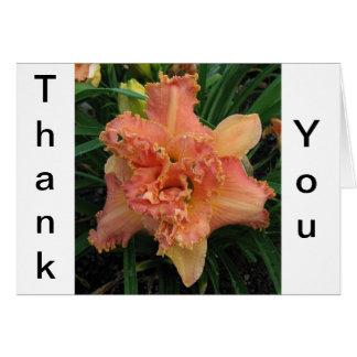 Cartão Obtenha floral bom