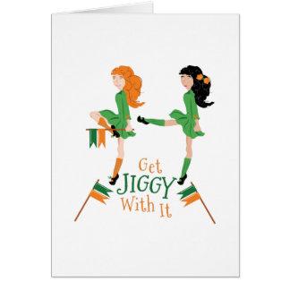 Cartão Obtenha Jiggy