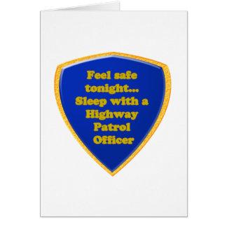 Cartão Oficial de patrulha da estrada