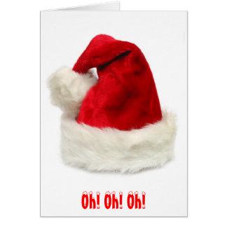 Cartão Oh! Oh! Oh!