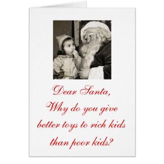 """Cartão Oh que é apenas de """"cartões de Natal errados caro"""