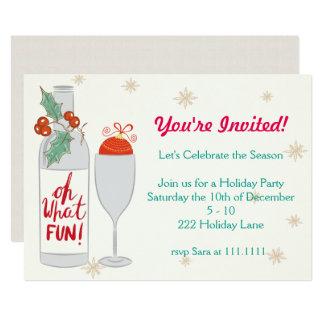 Cartão Oh que feriado do divertimento convida