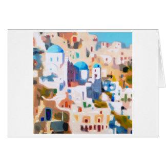 Cartão Oia Santorini