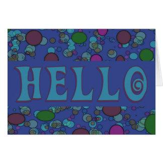 Cartão Olá!