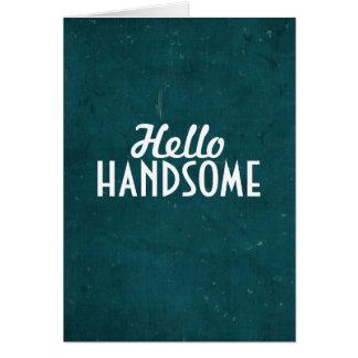 Cartão Olá! considerável