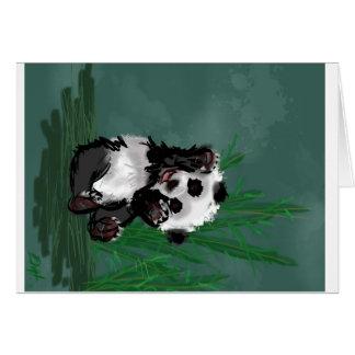 Cartão Olá! panda
