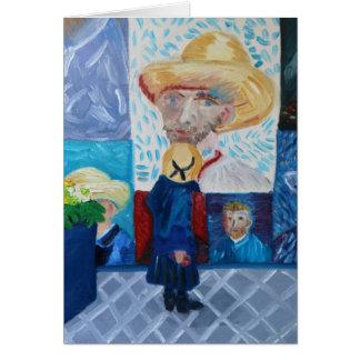 Cartão Olá! Van Gogh