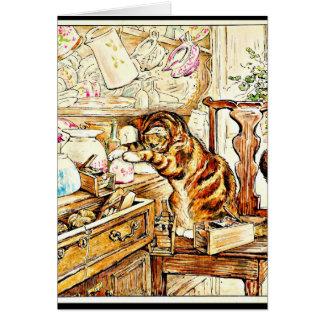 Cartão Oleiro 16 de Arte-Beatrix dos Notecard-Miúdos