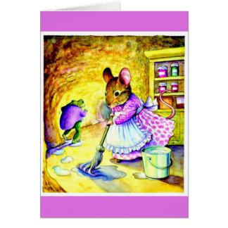 Cartão Oleiro 1 de Arte-Beatrix dos Notecard-Miúdos