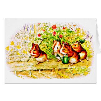 Cartão Oleiro 25 de Arte-Beatrix dos Notecard-Miúdos