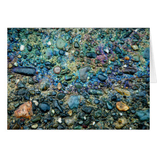 Cartão Óleo & pedra