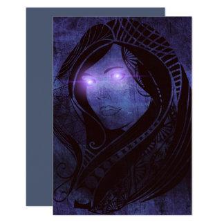 Cartão Olhar Smoldering