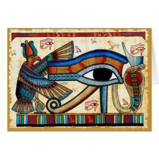 Cartão OLHO da coleção de HORUS
