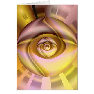 Cartão Olho das mentes