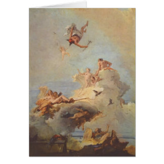Cartão Olymp por Giovanni Battista Tiepolo