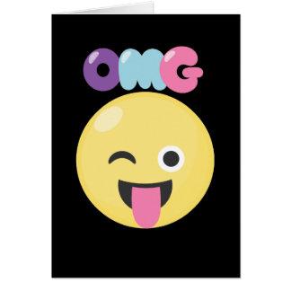 Cartão OMG Emoji