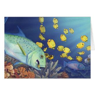 Cartão Omilu (Bluefin Trevally)