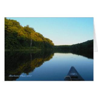 Cartão Onde o dia encontra a noite: Lagoa de Benedict