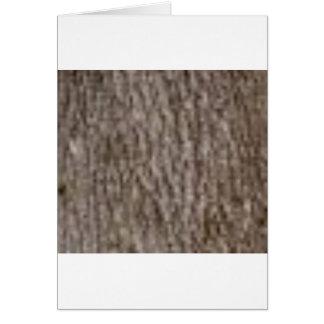 Cartão ondinhas do latido branco
