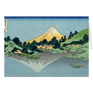 Cartão Opinião 25 de Monte Fuji