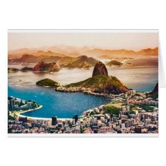 Cartão Opinião da arquitectura da cidade de Rio de