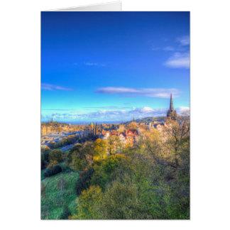 Cartão Opinião da cidade de Edimburgo