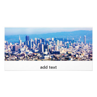 Cartão Opinião da cidade de San Francisco panorâmico