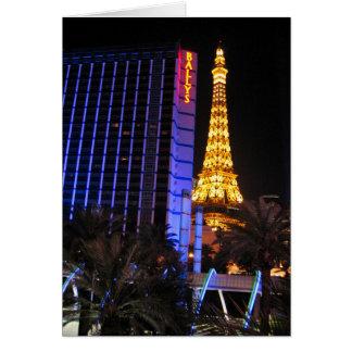 Cartão Opinião da tira de Las Vegas