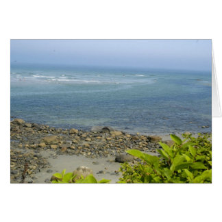 Cartão Opinião de Oceano Atlântico, Ogunquit, MIM