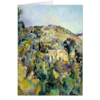Cartão Opinião de Paul Cezanne o Domaine St Joseph