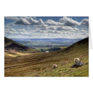Cartão Opinião do monte de Edimburgo Pentland