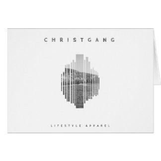 Cartão Opiniões de ChristGang
